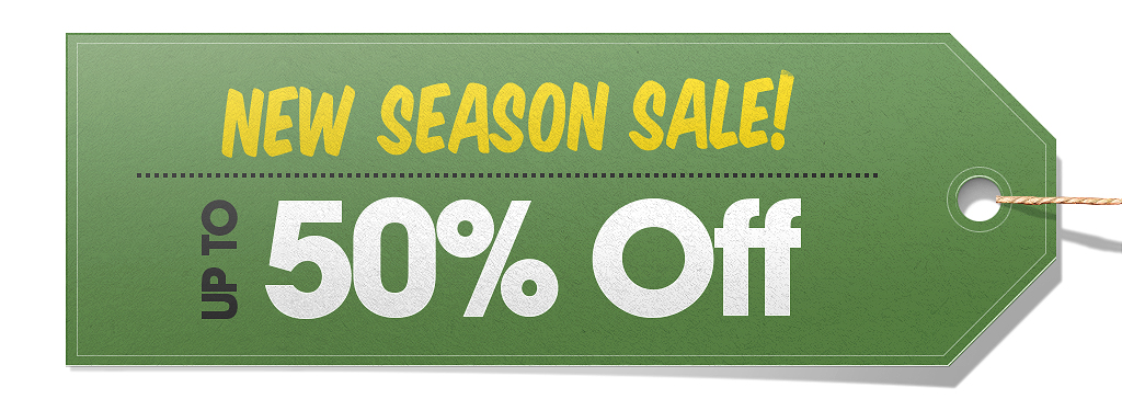New Season Sale!