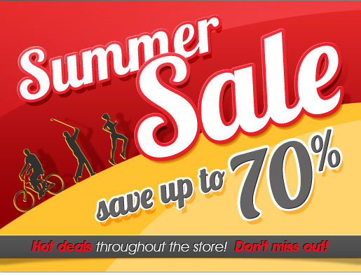 Summer Sale On